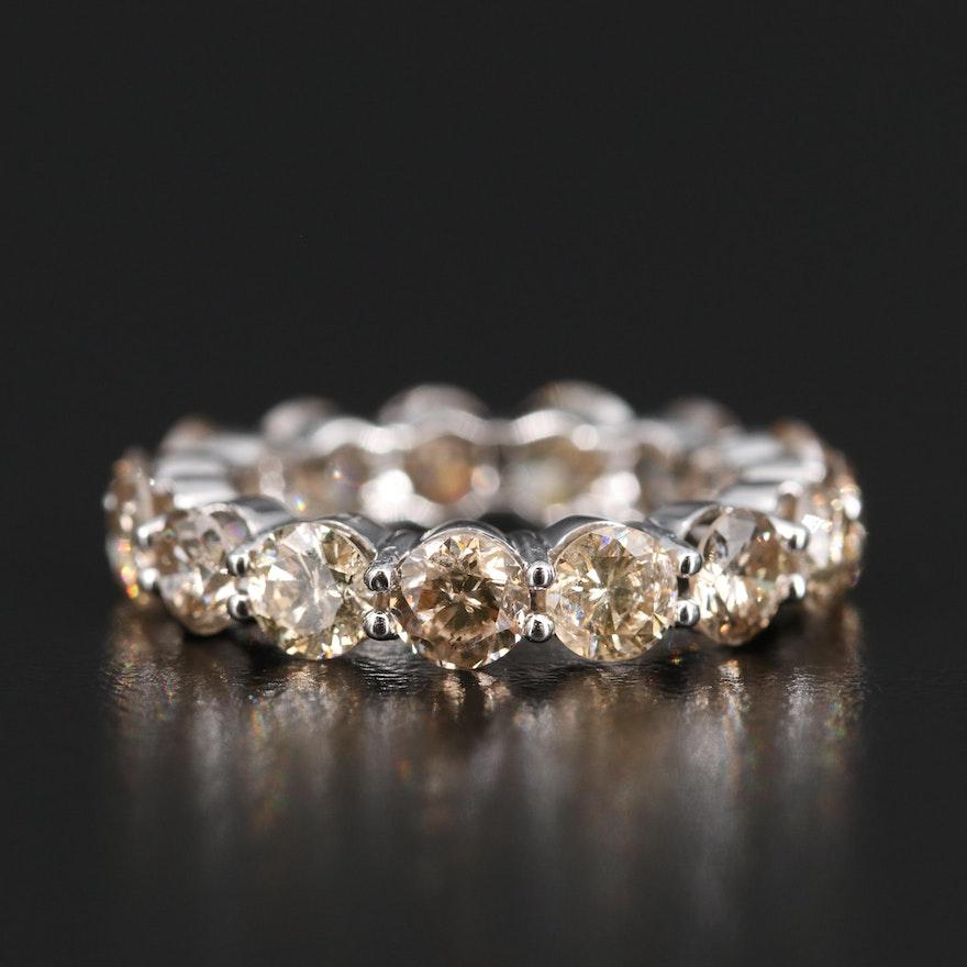 14K 4.50 CTW Diamond Eternity Band
