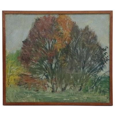 Robert H. Whitmore Oil Landscape Painting, circa 1919