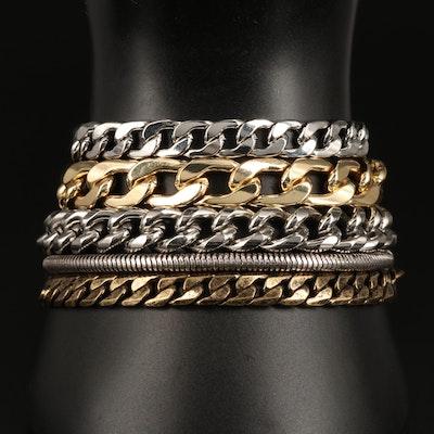 Jenny Bird Multi-Chain Bracelet