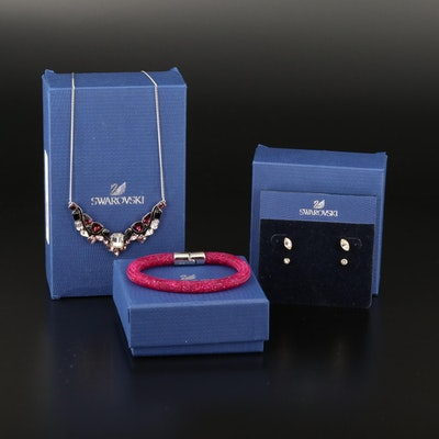 Swarovski Jewelry Featuring Impulse Multicolor Necklace