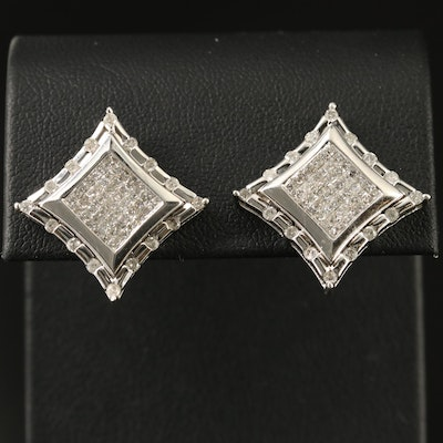 14K 2.02 CTW Diamond Earrings