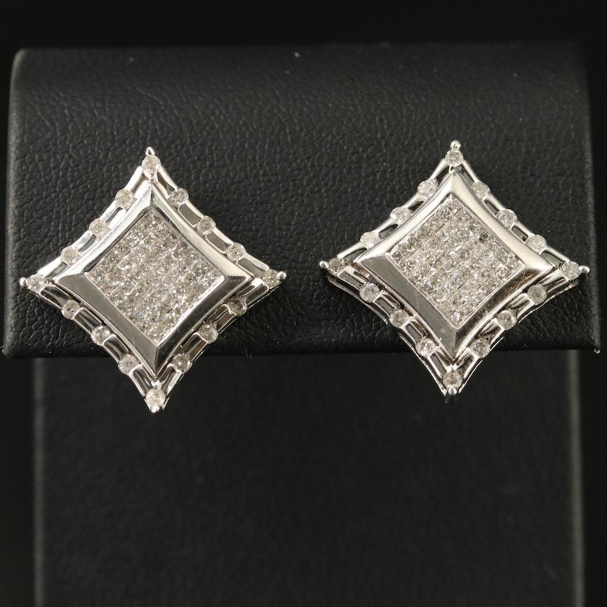 14K 2.02 CTW Diamond Earrings