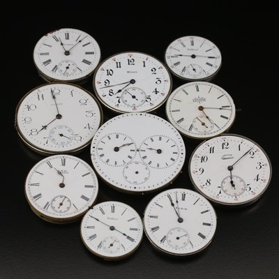 Ten Pocket Watch Movements