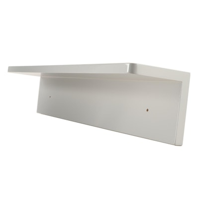 "24"" ""Morrow"" Gray Vanity Mirror Shelf"