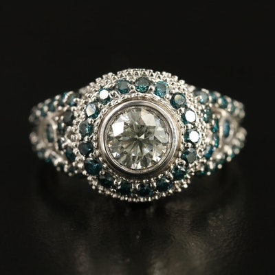 14K 2.40 CTW Diamond Ring