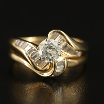 14K 1.40 CTW Diamond Ring