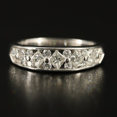 14K 1.16 CTW Diamond Openwork Ring