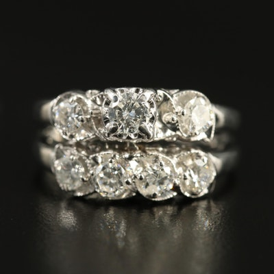14K 1.27 CTW Diamond Ring