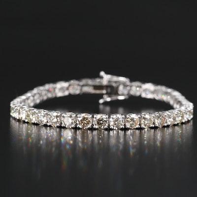 14K 13.15 CTW Diamond Line Bracelet