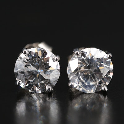 14K 2.75 CTW Diamond Stud Earrings