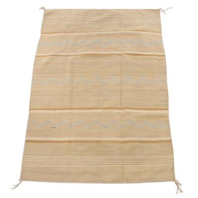 3'11 x 5'7 Handwoven Navajo Wide Ruins Wool Rug