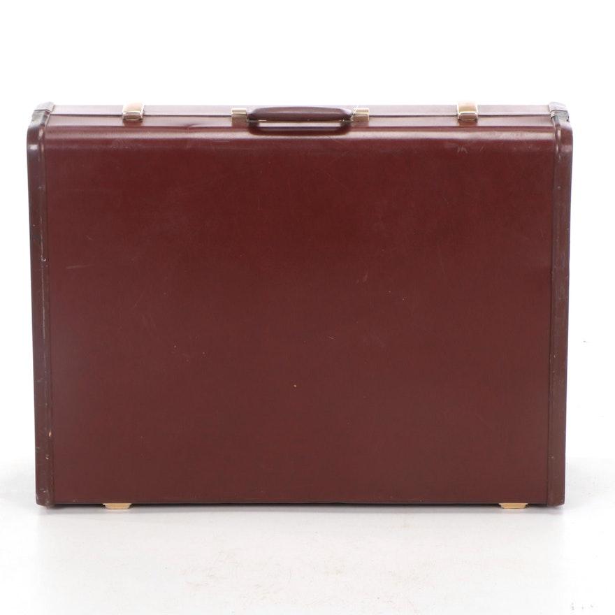"""Samsonite """"Ultralite"""" Suitcase, Monogrammed """"HES"""""""