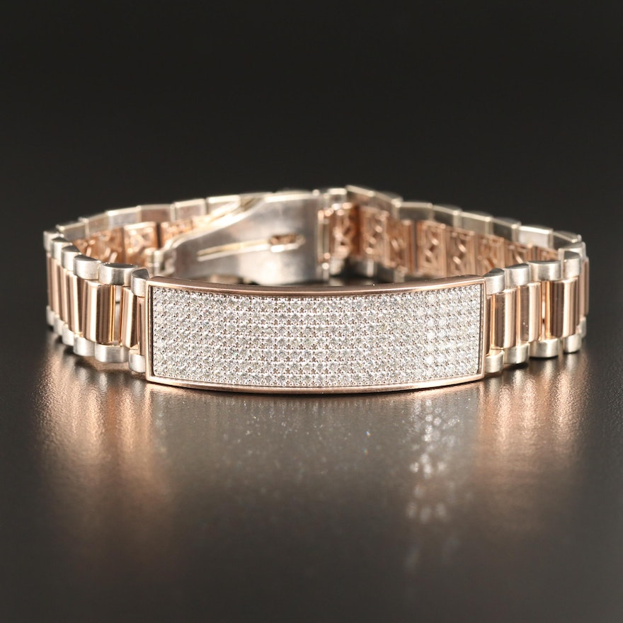 14K 3.78 CTW Diamond Bracelet
