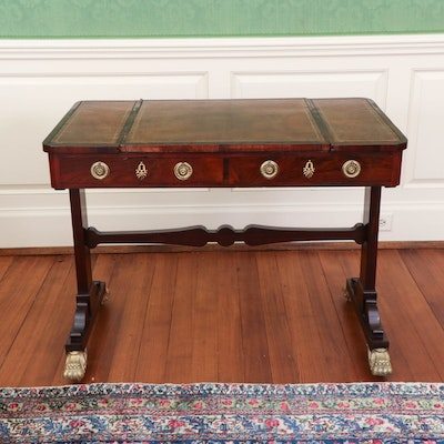 Regency Rosewood and Parcel-Gilt Games Table, Early 19th Century