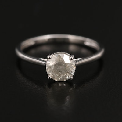 14K 0.92 CT Diamond Ring