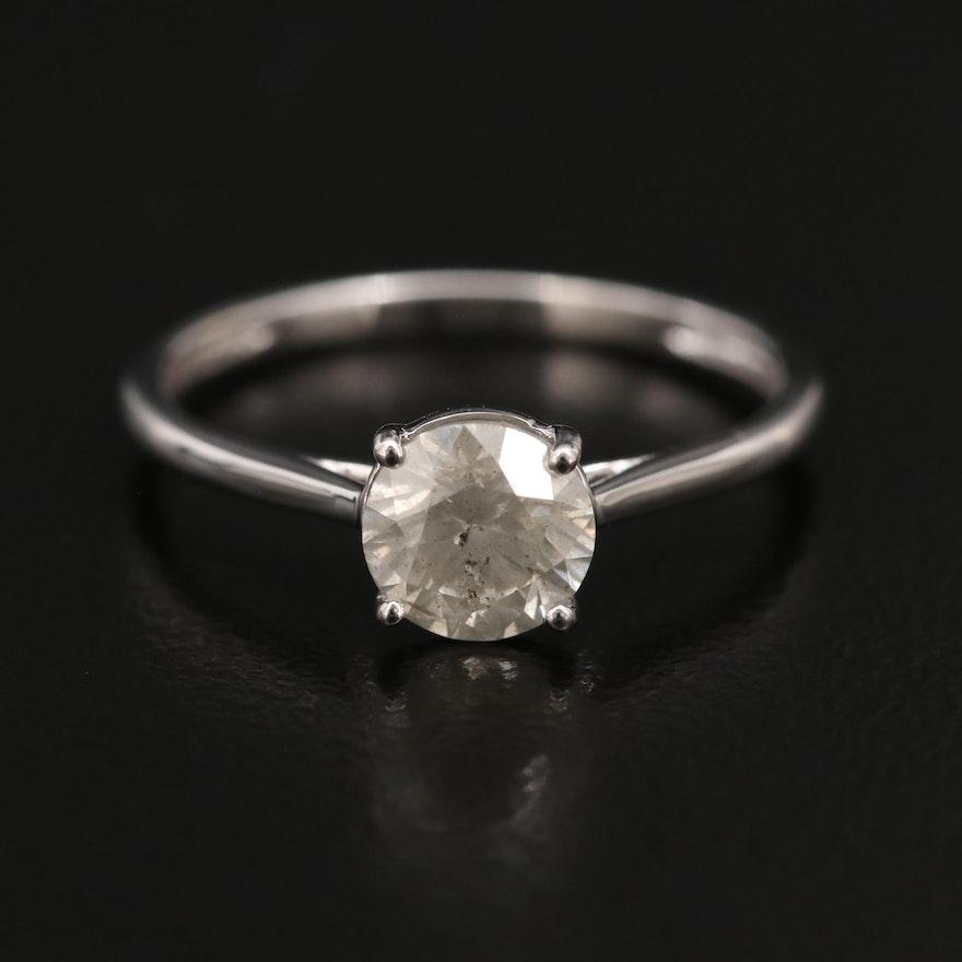 14K 0.92 CT Diamond Ring
