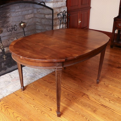 Drexel-Heritage Sheraton Style Dining Table, Late 20th Century