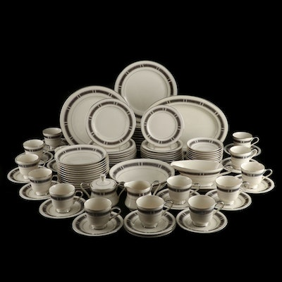"Royal Castle ""Chippendale"" Bone China Dinnerware"