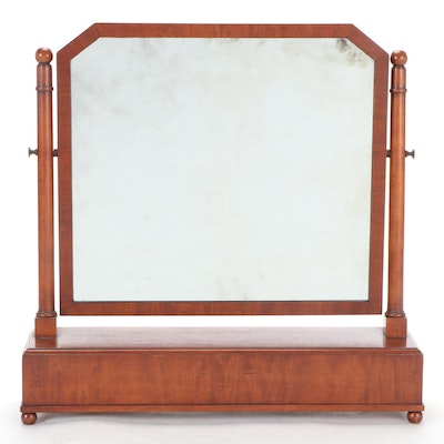 Federal Style Mahogany Tabletop Dressing Mirror, 20th Century