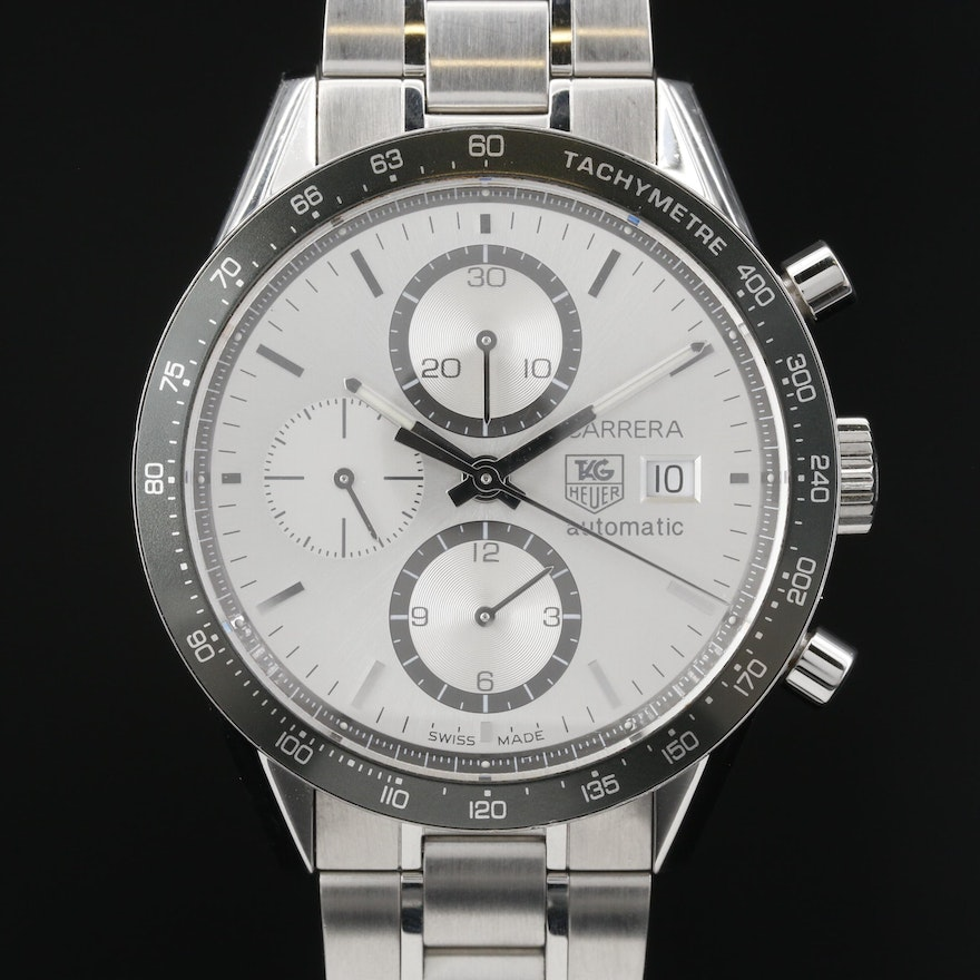 TAG Heuer Carrera Calibre 16 Stainless Steel Automatic Wristwatch