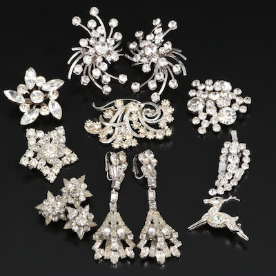 Rhinestone Jewelry Collection Featuring Juliana