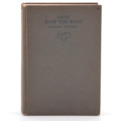 "First Edition, Second Printing ""Gone with the Wind"" by Margaret Mitchell, 1936"