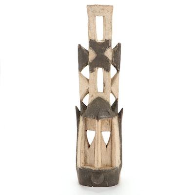 Dogon Wooden Antelope Mask, Mali