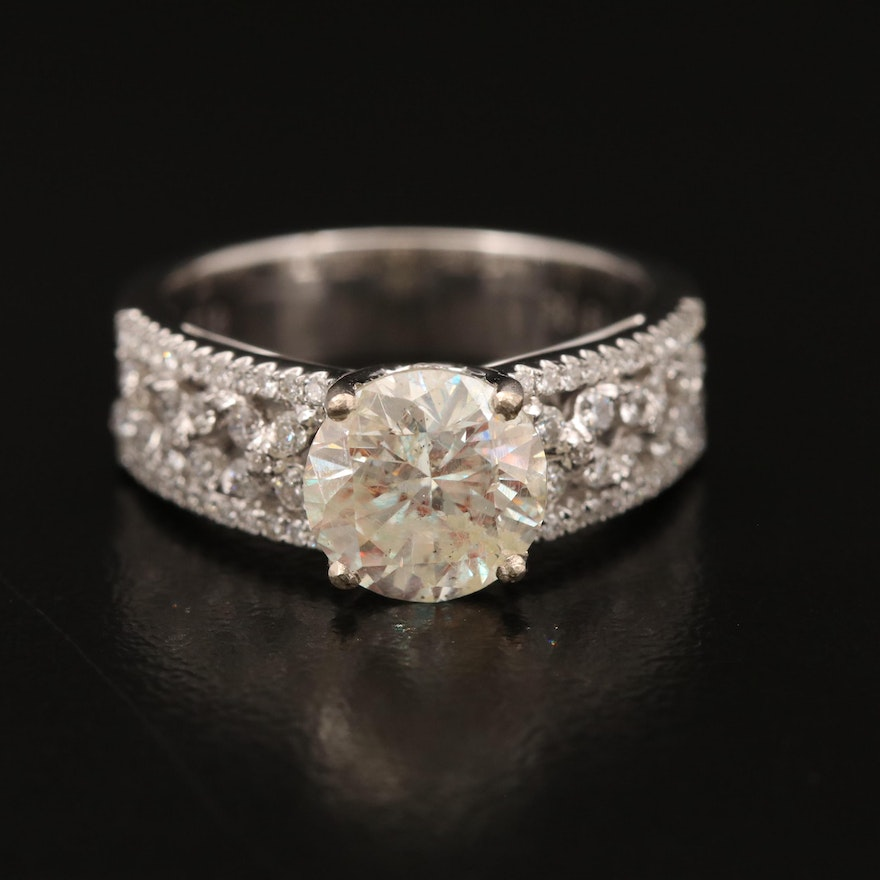 18K 2.61 CTW Diamond Ring