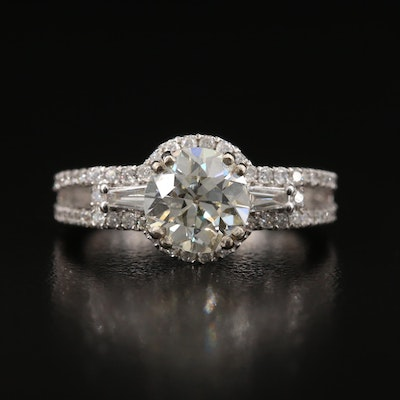 14K 2.56 CTW Diamond Ring