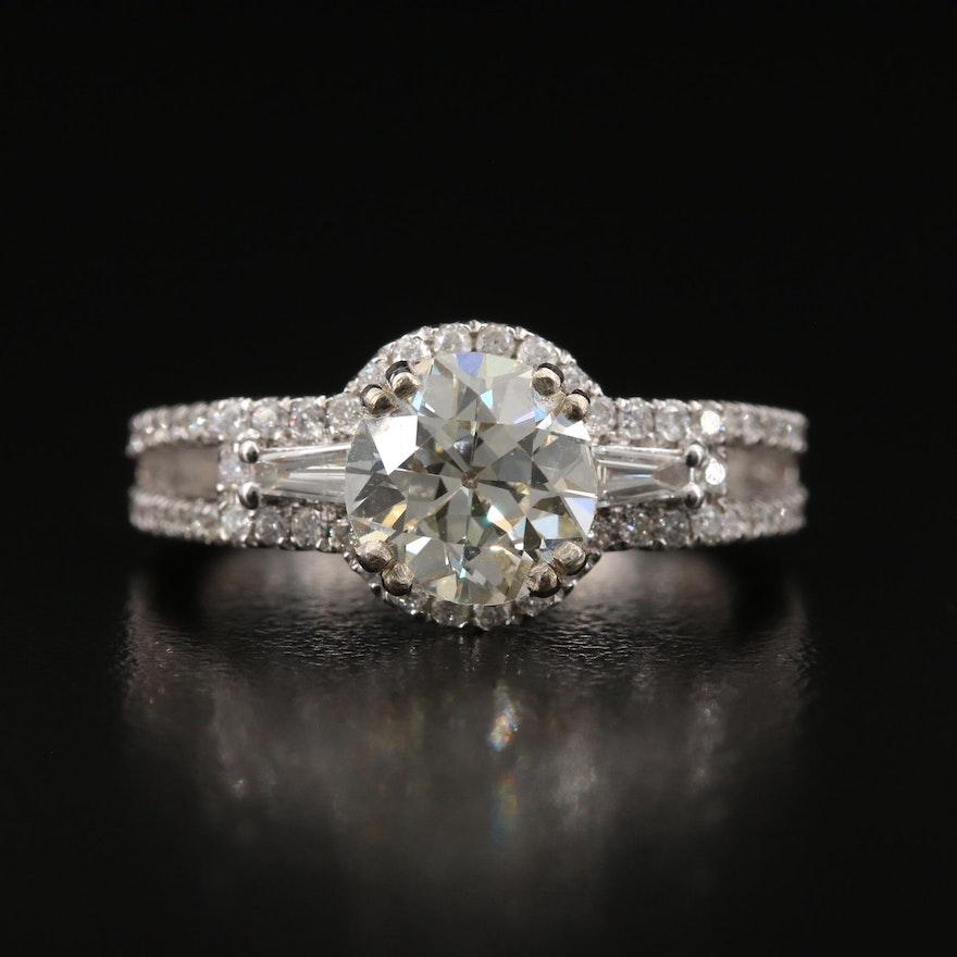 14K 2.56 CTW Diamond Ring