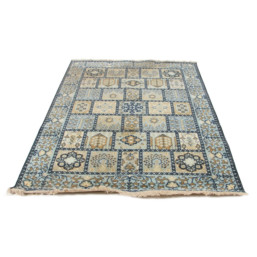 "5'10 x 8'9 Machine Made Milliken ""Garden of Saman"" Tufted Nylon Rug"