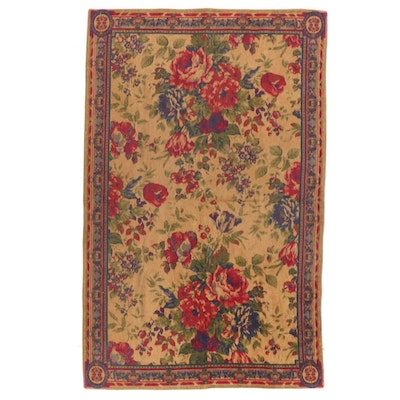 Society Whitney Rosette Amber Cotton Rug