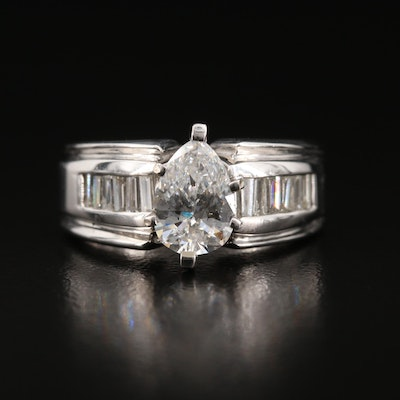 14K 1.37 CTW Diamond Ring