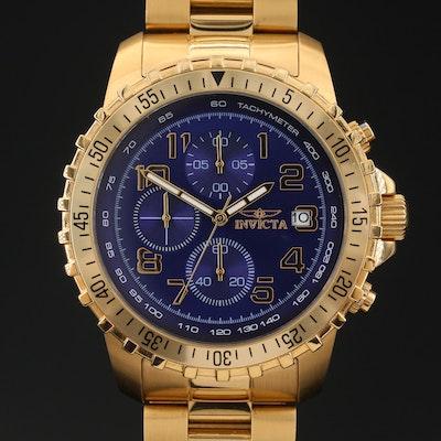 Invicta Specialty Chronograph Stainless Steel Quartz Wristwatch