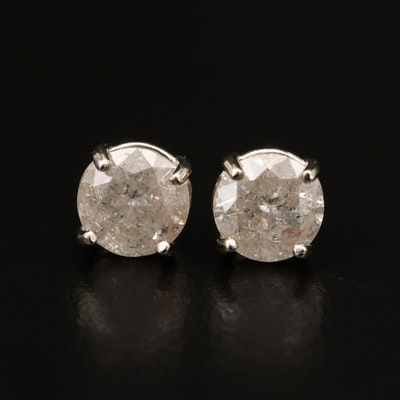 14K 2.37 CTW Diamond Stud Earrings