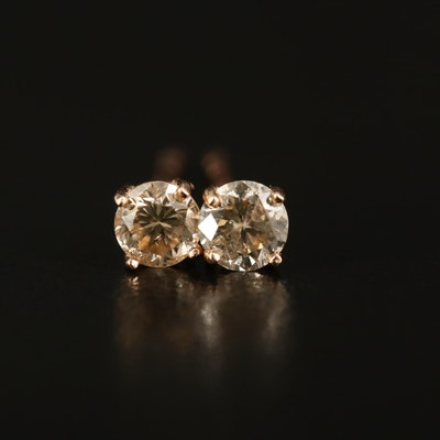 14K 0.35 CTW Diamond Stud Earrings