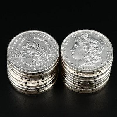 Twenty Uncirculated Morgan Silver Dollars