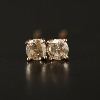 14K 0.39 CTW Diamond Stud Earrings