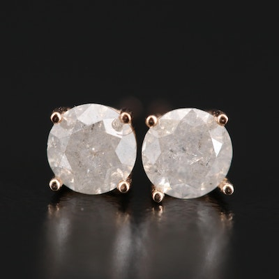 14K 0.79 CTW Diamond Stud Earrings