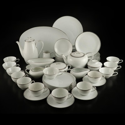 "Noritake China ""Colony"" and ""Silverdale"" Coffee and Tea Sets, Mid-20th Century"