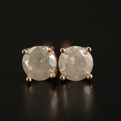 14K 0.71 CTW Diamond Stud Earrings