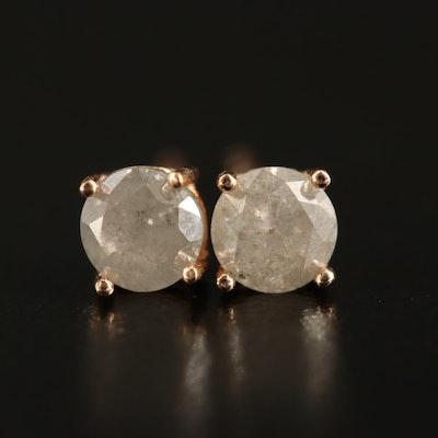 14K 0.71 CTW Diamond Stud Earrings