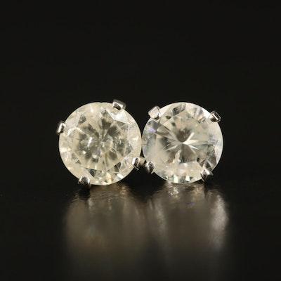 14K 1.31 CTW Diamond Stud Earrings