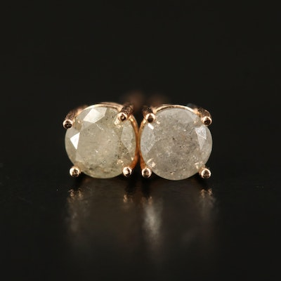 14K 0.72 CTW Diamond Stud Earrings
