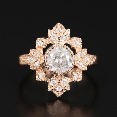 14K 1.16 CTW Diamond Ring