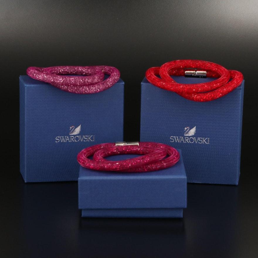 "Swarovski Crystal ""Stardust"" Bracelets"