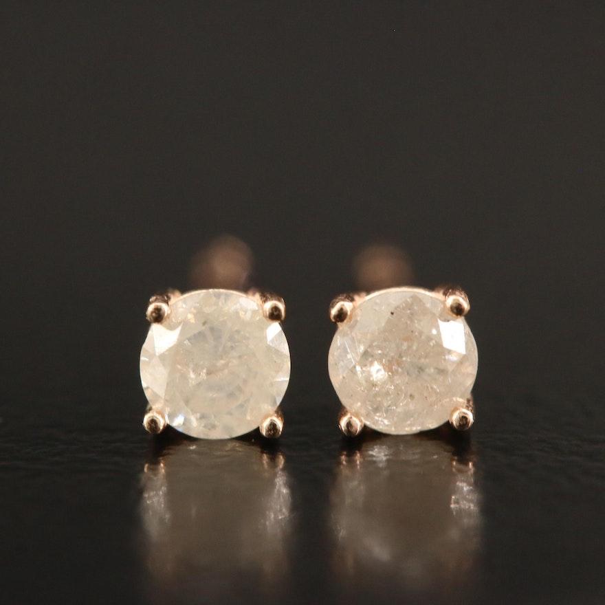 14K 0.36 CTW Stud Earrings