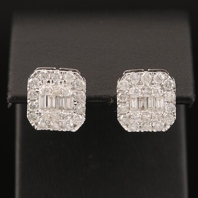 14K 2.29 CTW Diamond Earrings