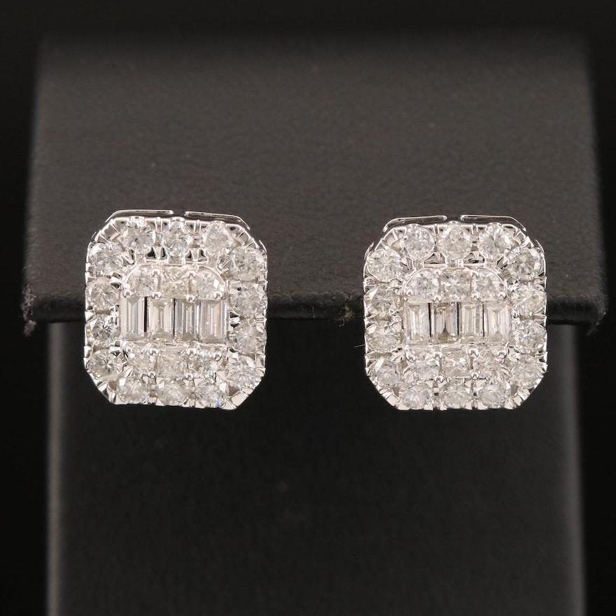 14K 2.29 CTW Diamond Earrings