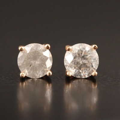 14K 0.64 CTW Diamond Stud Earrings